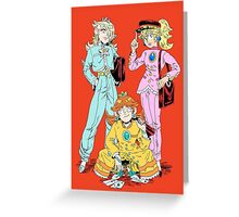 Gakuran Princesses Greeting Card