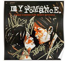 The Romantic Album Cover Three Cheers for Sweet Revenge  Poster