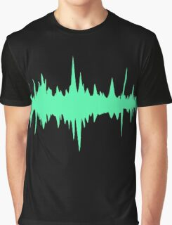 Music Track Sound Wave  Graphic T-Shirt