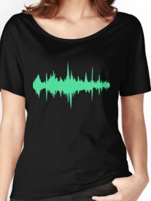 Music Track Sound Wave  Women's Relaxed Fit T-Shirt