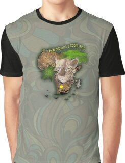 Only Hunt with a Zoom lens Graphic T-Shirt
