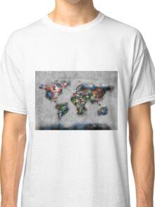 world map flags 4 Classic T-Shirt