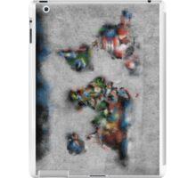 world map flags 4 iPad Case/Skin