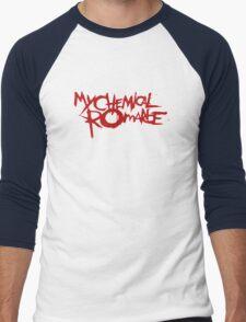 The Cool My Chemical Romance Logo Men's Baseball ¾ T-Shirt