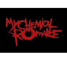 The Cool My Chemical Romance Logo Photographic Print