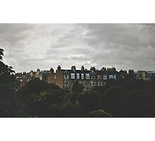 When the night falls on Auld Reekie Photographic Print