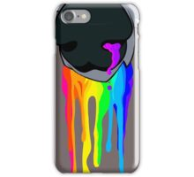 Rainbow Drooling Canine iPhone Case/Skin