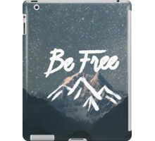 Be Free - White iPad Case/Skin