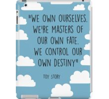 pbbyc - Typography Toy Story Quote iPad Case/Skin