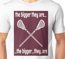 """the bigger they are..."" Unisex T-Shirt"