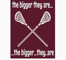 """""""the bigger they are..."""" Unisex T-Shirt"""