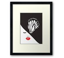 Butterfly Eye Framed Print
