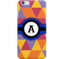 Monogram A iPhone Case/Skin