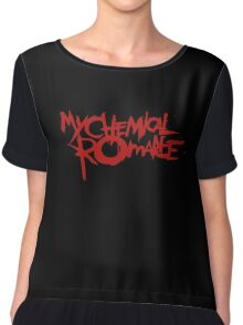 The Cool My Chemical Romance Logo Chiffon Top