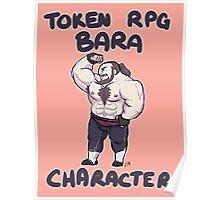 Token RPG Bara Character Poster