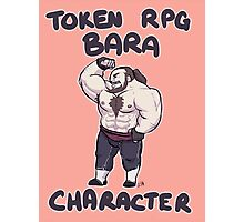Token RPG Bara Character Photographic Print