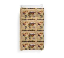 world map flags 5 Duvet Cover