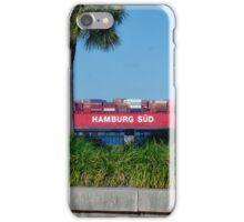 Cargo Ship in Charleston Harbour iPhone Case/Skin