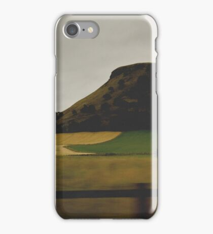 Catch me pacing past the fields iPhone Case/Skin