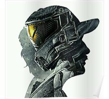 Halo Game Master Chief Illusions Most Popular Xbox ps Poster