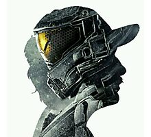 Halo Game Master Chief Illusions Most Popular Xbox ps Photographic Print