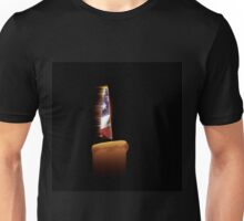 American Flag Candle Unisex T-Shirt