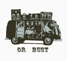 Oakland Or Bust! One Piece - Short Sleeve