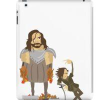 Fucking Chickens - Sandor & Arya iPad Case/Skin