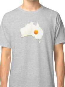 Fried Egg Cartography - Australia 2 Classic T-Shirt