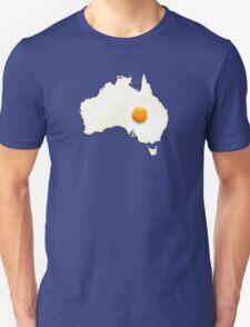 Fried Egg Cartography - Australia 2 T-Shirt