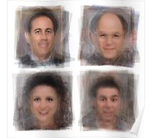 Seinfeld Characters Poster