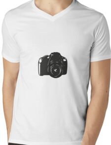 A Camera is a Way to Capture Moments Forever Mens V-Neck T-Shirt