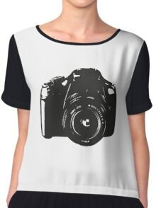 A Camera is a Way to Capture Moments Forever Chiffon Top