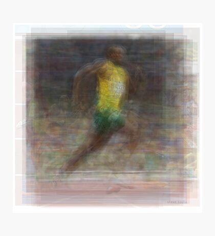 Usain Bolt Photographic Print