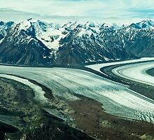 Kaskawulsh Glacier pan by Yukondick