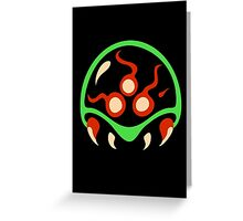 Metroid Greeting Card