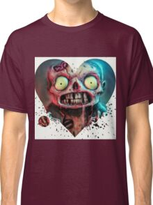 Zombie Heart Cartoon Dead Most Popular Classic T-Shirt