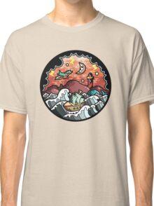 Oldschool storm landscape Classic T-Shirt
