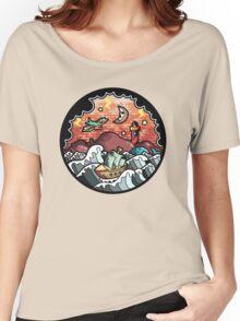 Oldschool storm landscape Women's Relaxed Fit T-Shirt