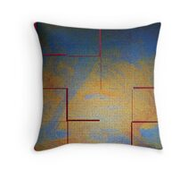 Color Fusion Throw Pillow