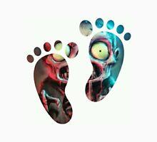 Zombie Foot Step Print Cartoon Dead Most Popular Illusion Unisex T-Shirt