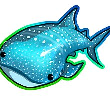 Whale Shark  by RileyRiot