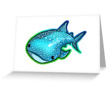 Whale Shark  Greeting Card