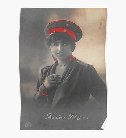 Fräulein Feldgrau Poster