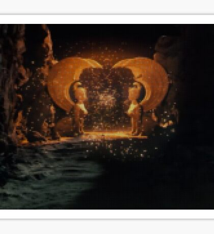 The NeverEnding Story - Sphinxes Gate Dots Sticker