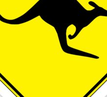 Perth, Western Australia - Kangaroos Gone Wild Sticker