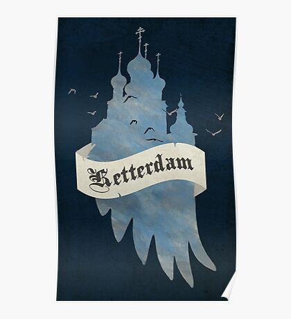 Ketterdam from Six of Crows Poster