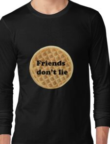 FRIENDS DON'T LIE- stranger things Long Sleeve T-Shirt