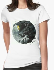 Halo Master Chief Illusions Most Popular Womens Fitted T-Shirt