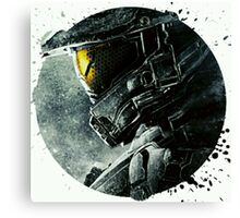 Halo Master Chief Illusions Most Popular Canvas Print